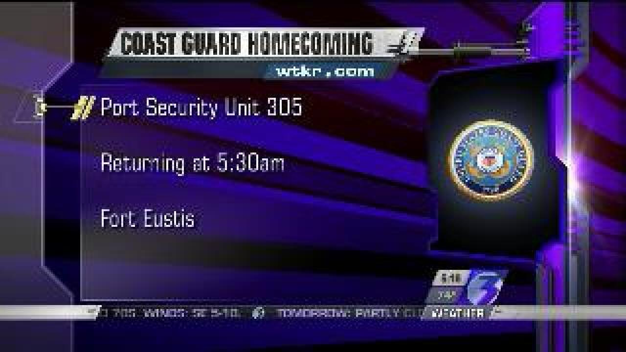 Coast Guard Homecoming