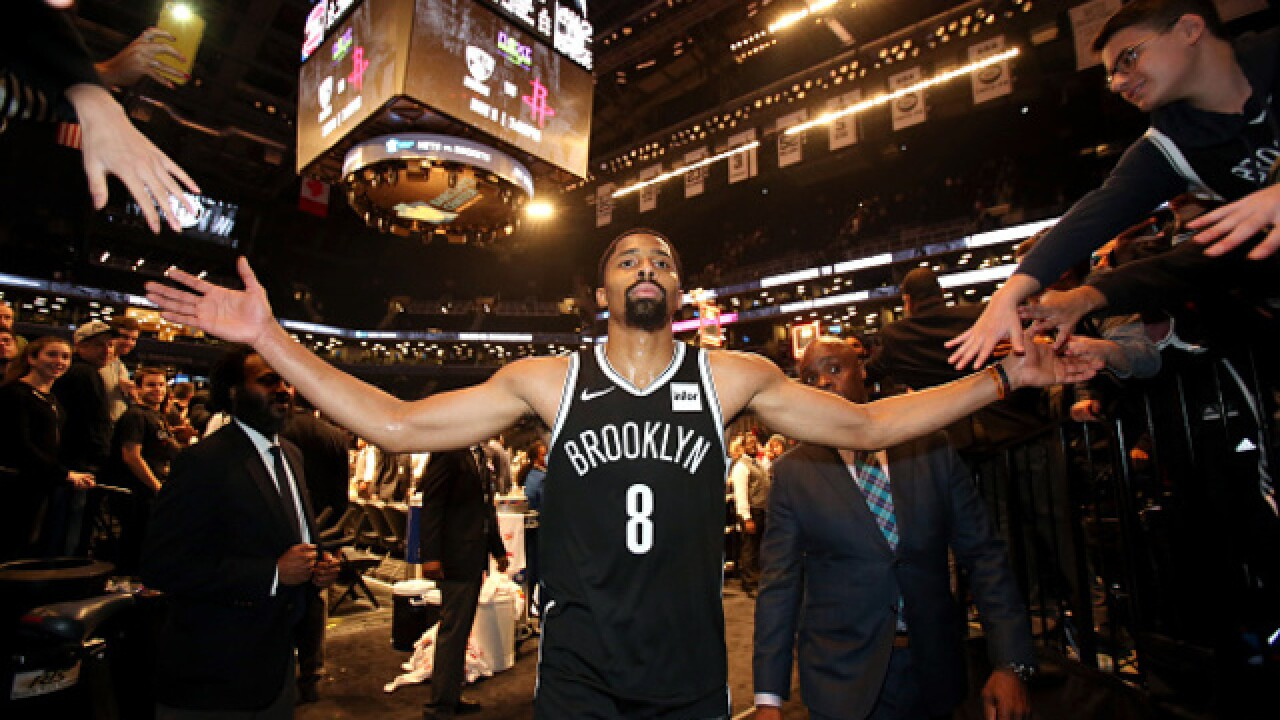 Dinwiddie burns former team in Nets win over Pistons