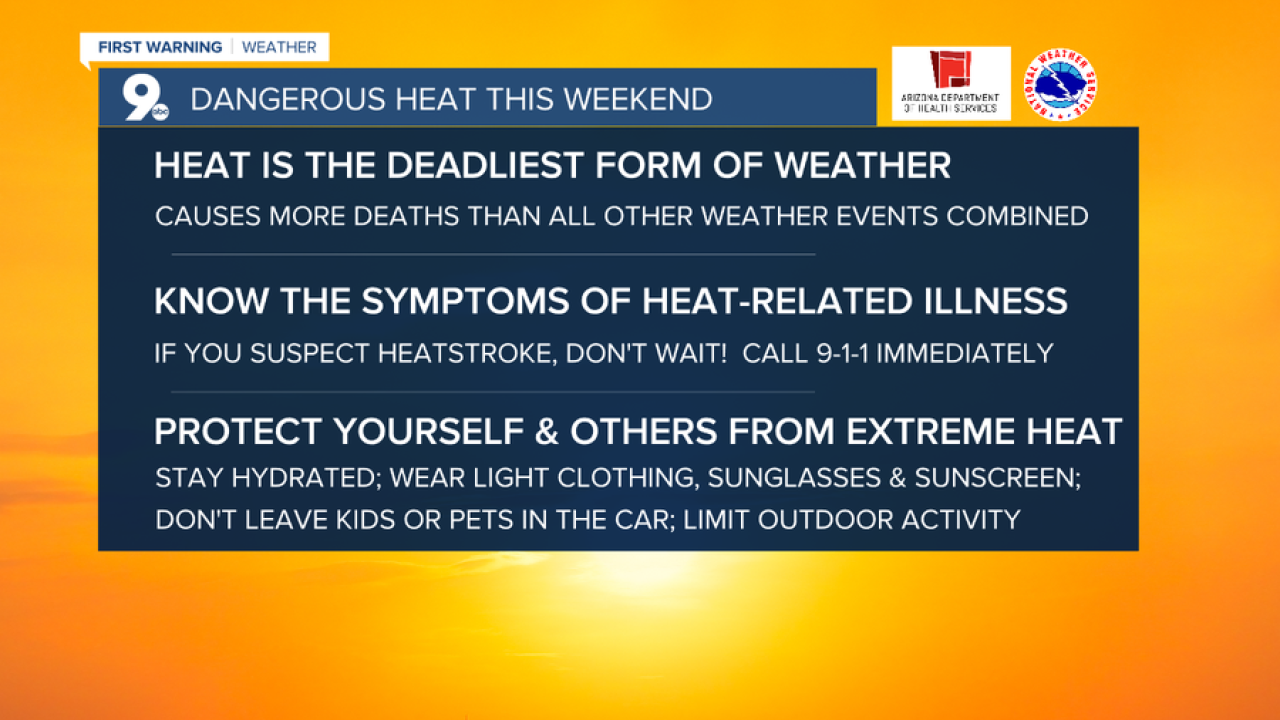 Safety tips to beat the heat