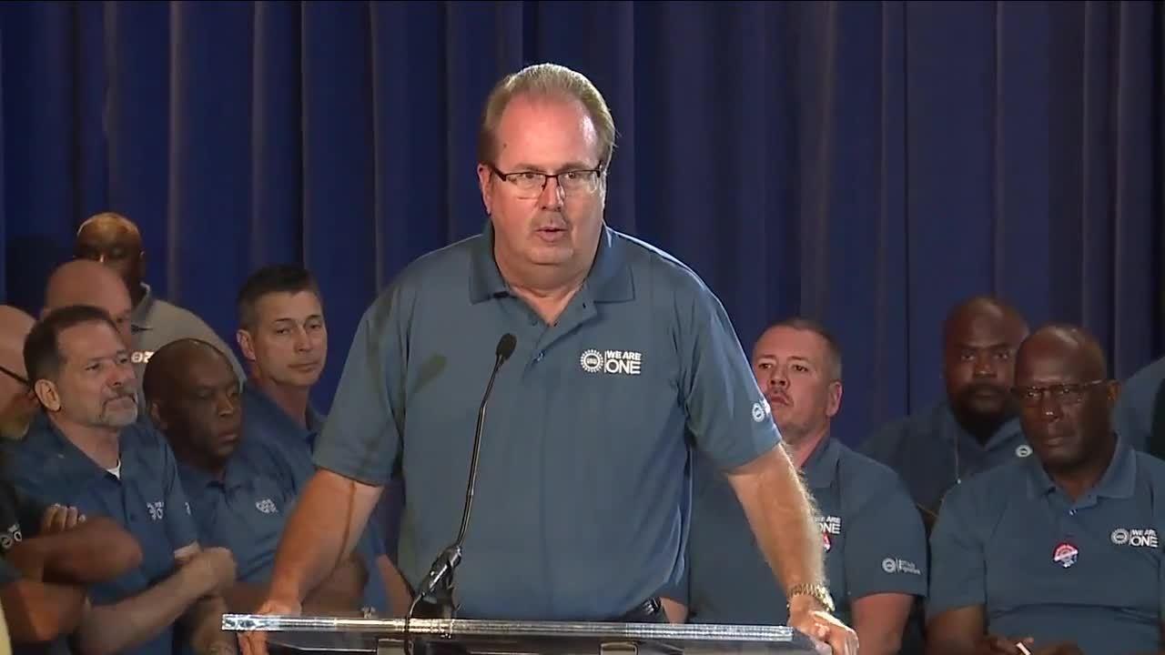 Former UAW President Gary Jones resigns from union membership