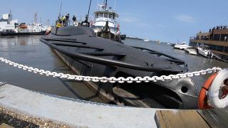 USS Cod allision