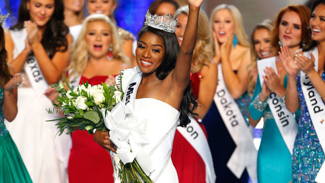 Nia Imani Franklin: Miss New York named 2019 Miss America