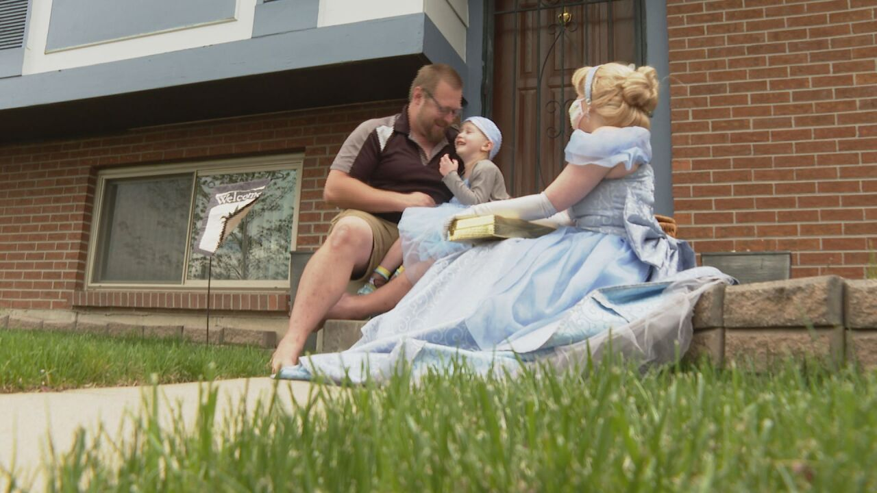 """""""She's our hero:"""" Disney dream comes true for girl with incurable brain tumor"""