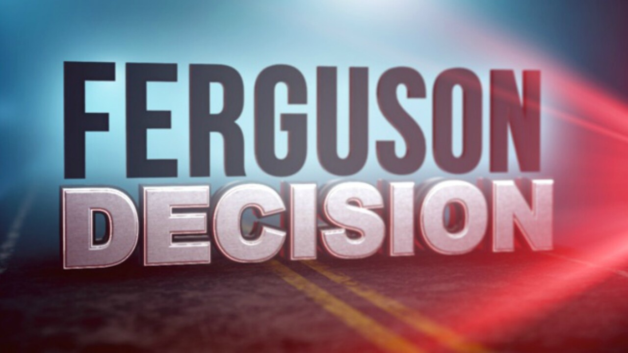 Grand jury decision expected today in Ferguson, Missouri