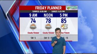 Congrats to Braedyn, our June Weather Kid