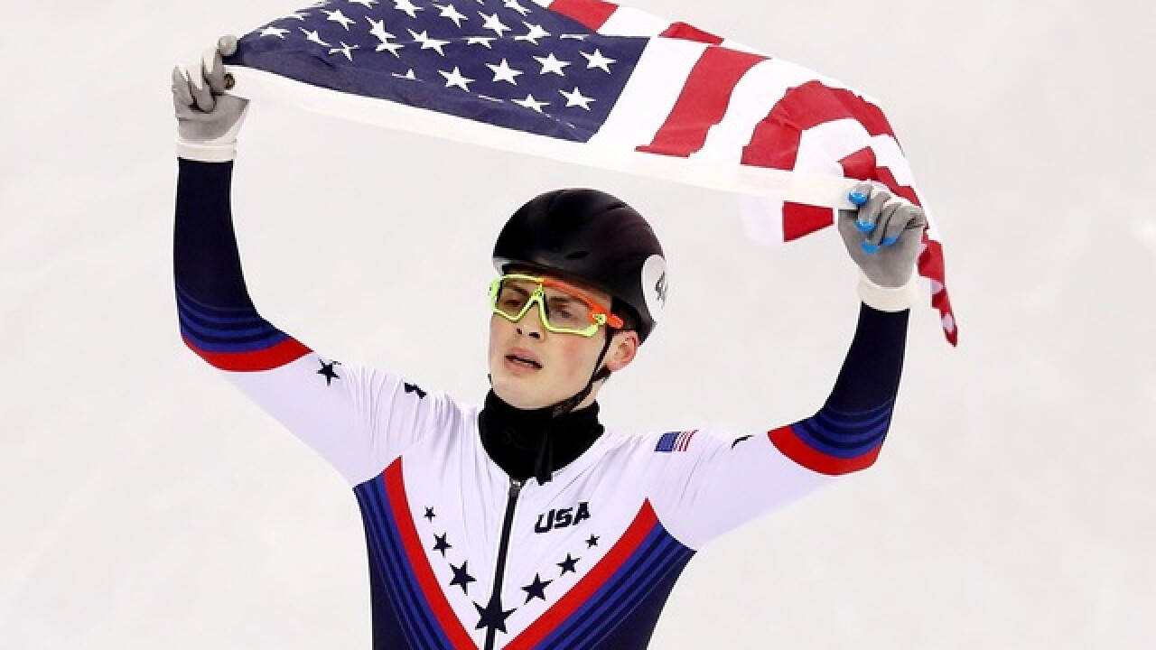 John-Henry Krueger ends U.S. speed skating's medal drought