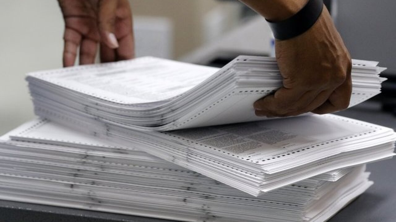 Manual recount deadline Sunday at noon
