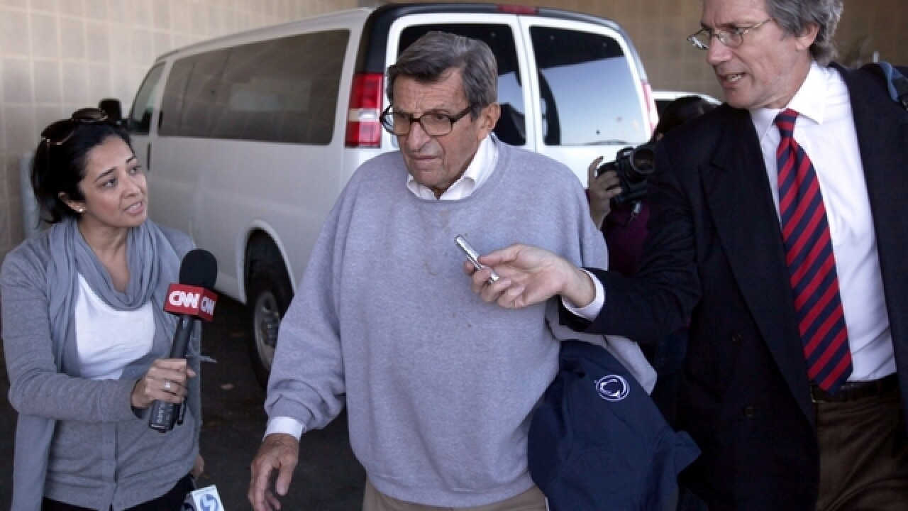 5 years after sex abuse scandal, Joe Paterno to be honored by Penn State Saturday