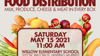 Local Fraternity chapter hosting free food distribution event at Willow Elementray