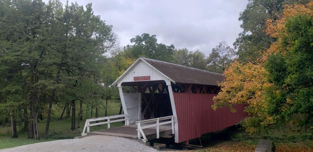 Butler-Donohue Bridge at the Winterset city park