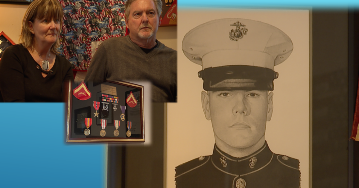 Family honors Marine killed in Iraq by helping veterans