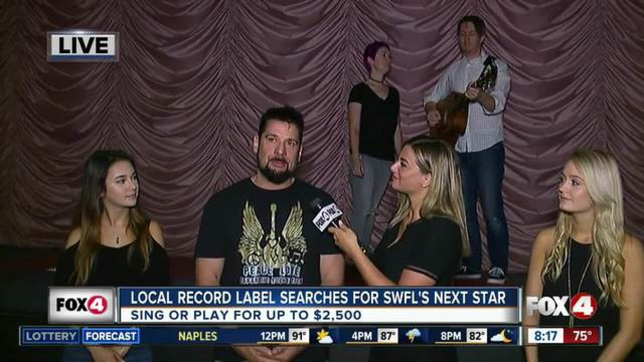 Local record label hosts talent search