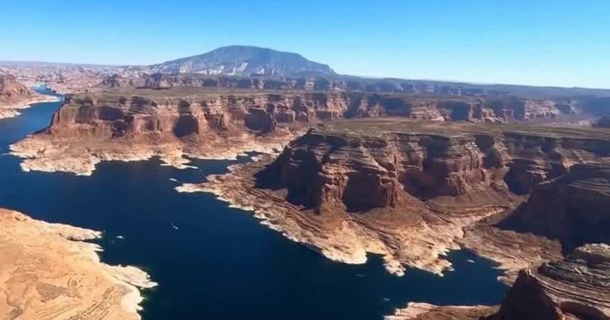 Lake Powell could hit near-record lows from drought - fox13now.com