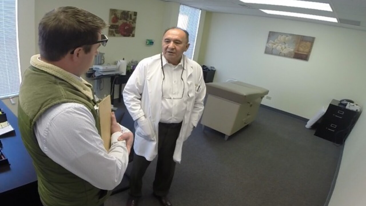 Unlicensed doctor offers Botox on hidden camera