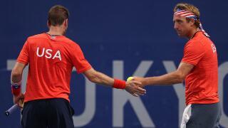 Americans Krajicek, Sandgren to play for bronze medal in men's doubles