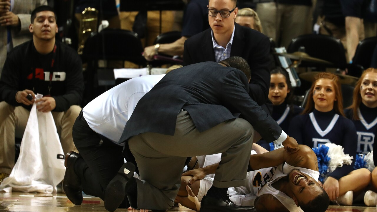 VCU loses to Rhode Island and loses Evans to kneeinjury