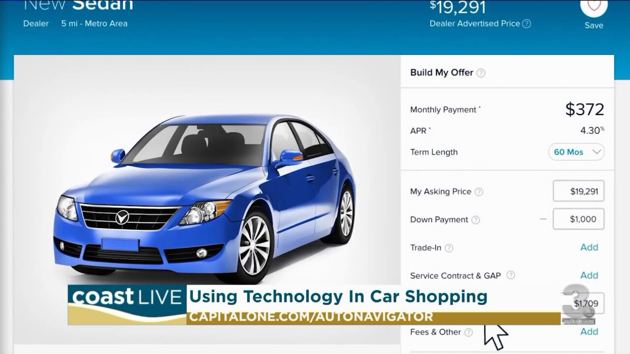 Simplifying car purchasing using technology on CoastLive
