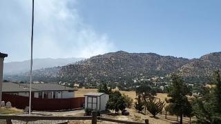 Tehachapi Fire Hwy 202