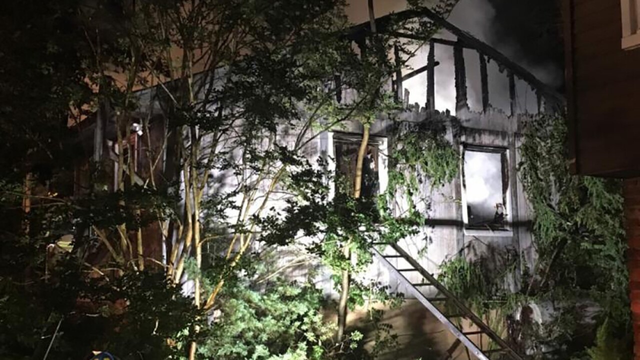 Two In Serious Condition, House Total Loss In Crownsville Fire