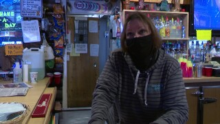 Cowboys Bar manager Dianna Olson
