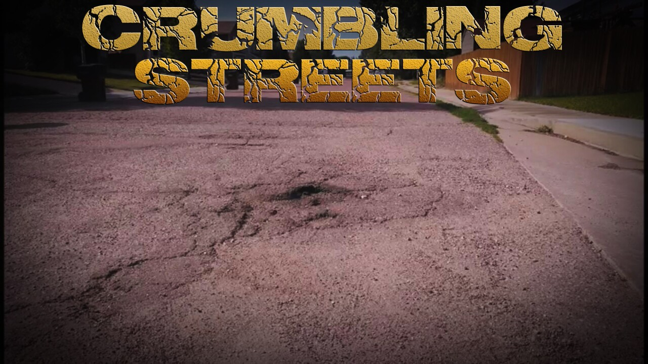 Crumbling Streets: Colorado Centre
