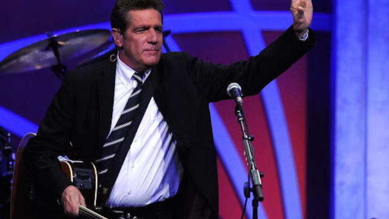 Winslow, Ariz. erects statue of Glenn Frey 'standin' on a corner'