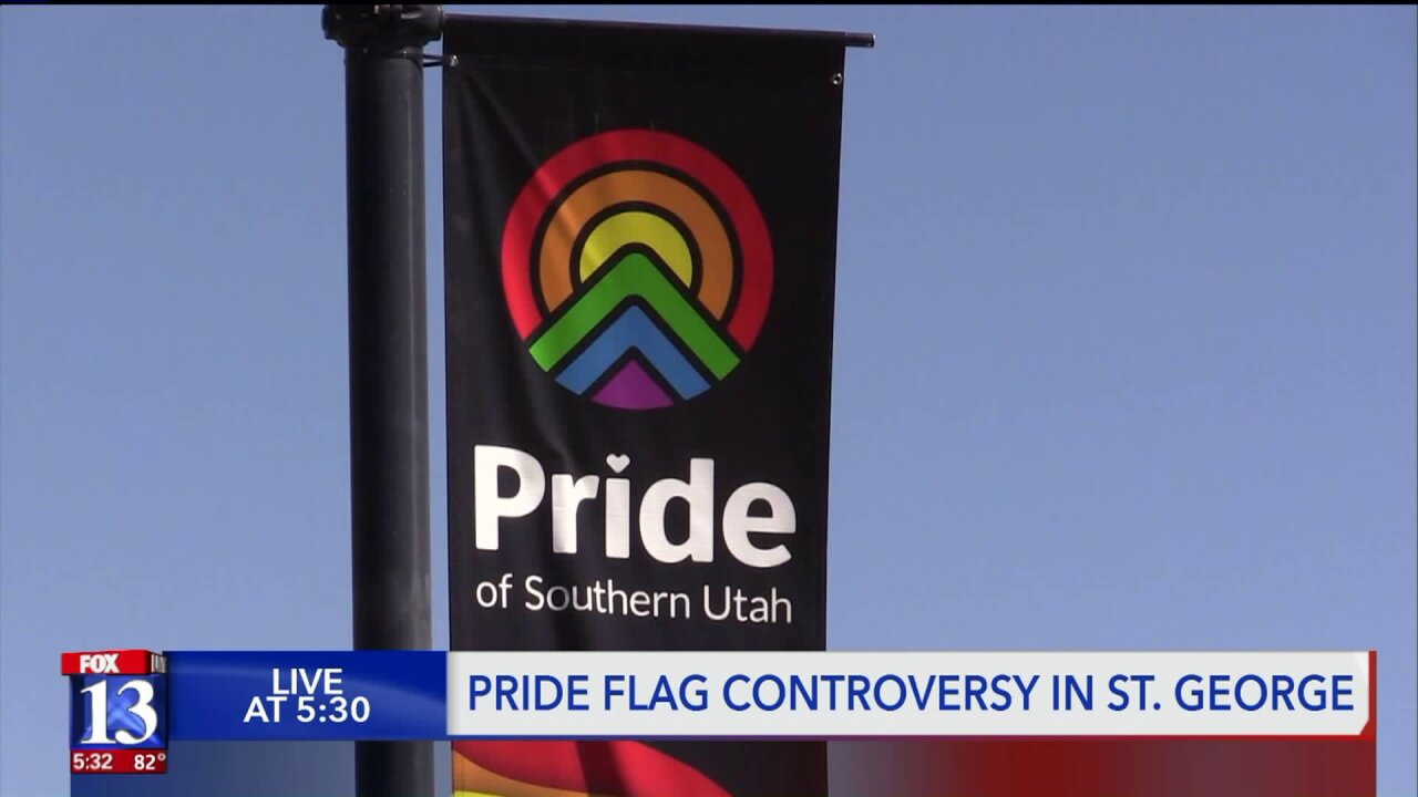 St. George city leaders receive backlash over pride banners