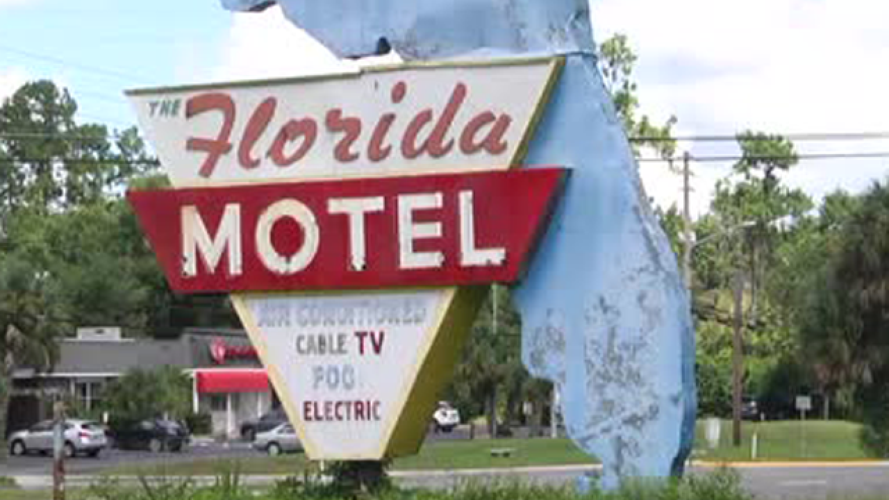 The Florida Motel sign at risk of disappearing
