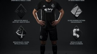 Sporting KC unveils secondary jerseys, black with metallic silver trim