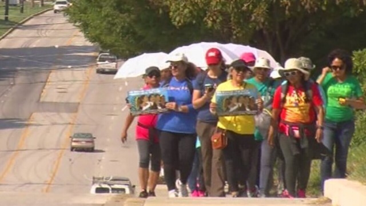 Group walks 100 miles to 'inspire' Pope Francis