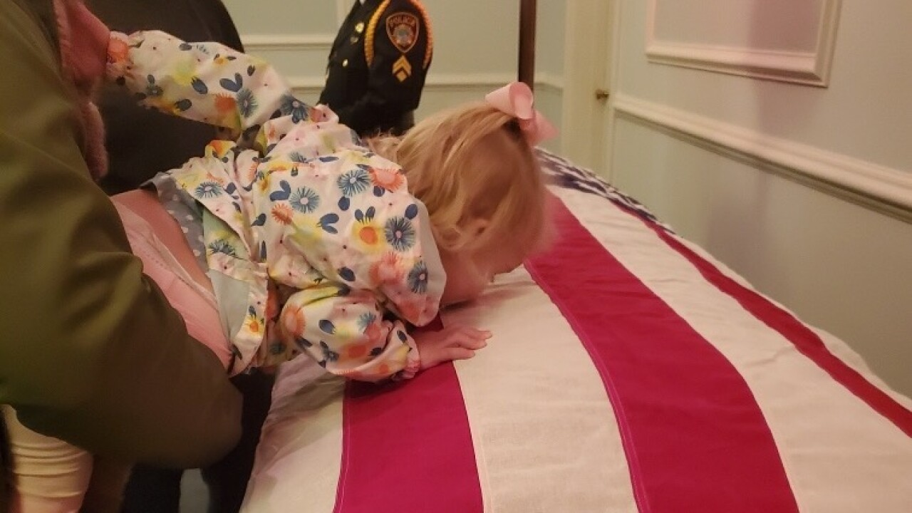 'Raegan will know her mother': Friend, day care provider remembers Officer KatieThyne