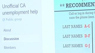 CA Unemployment Help