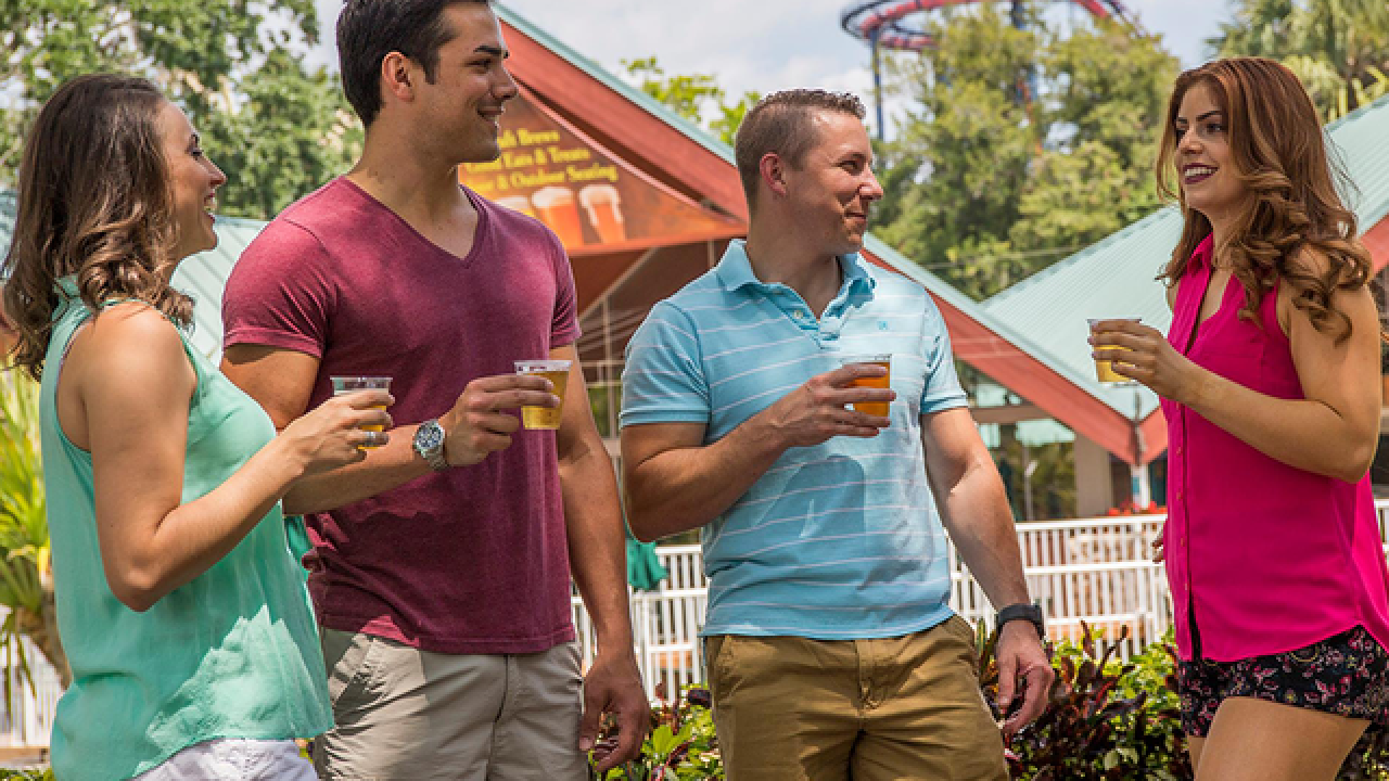 Busch Gardens Tampa Bay is giving away FREE beer this summer