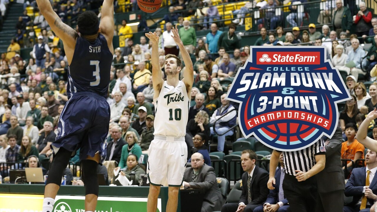 William & Mary sharpshooter Connor Burchfield to compete with the nation's best in the State Farm College Three-Point Championship
