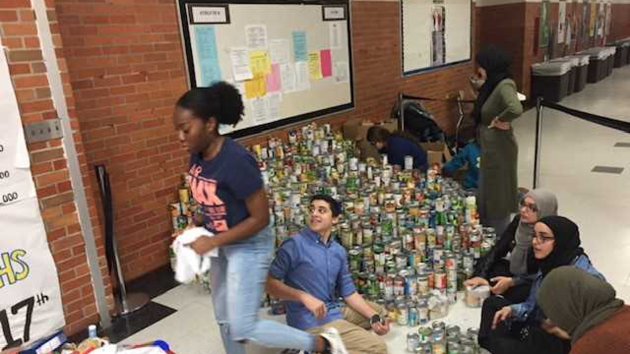 "Dearborn Schools  ""Battle Against Hunger"""