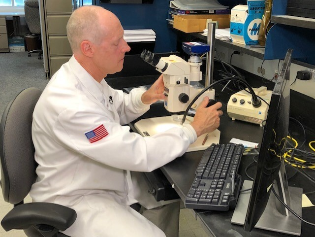 USGS Research Chemist Greg Wetherbee