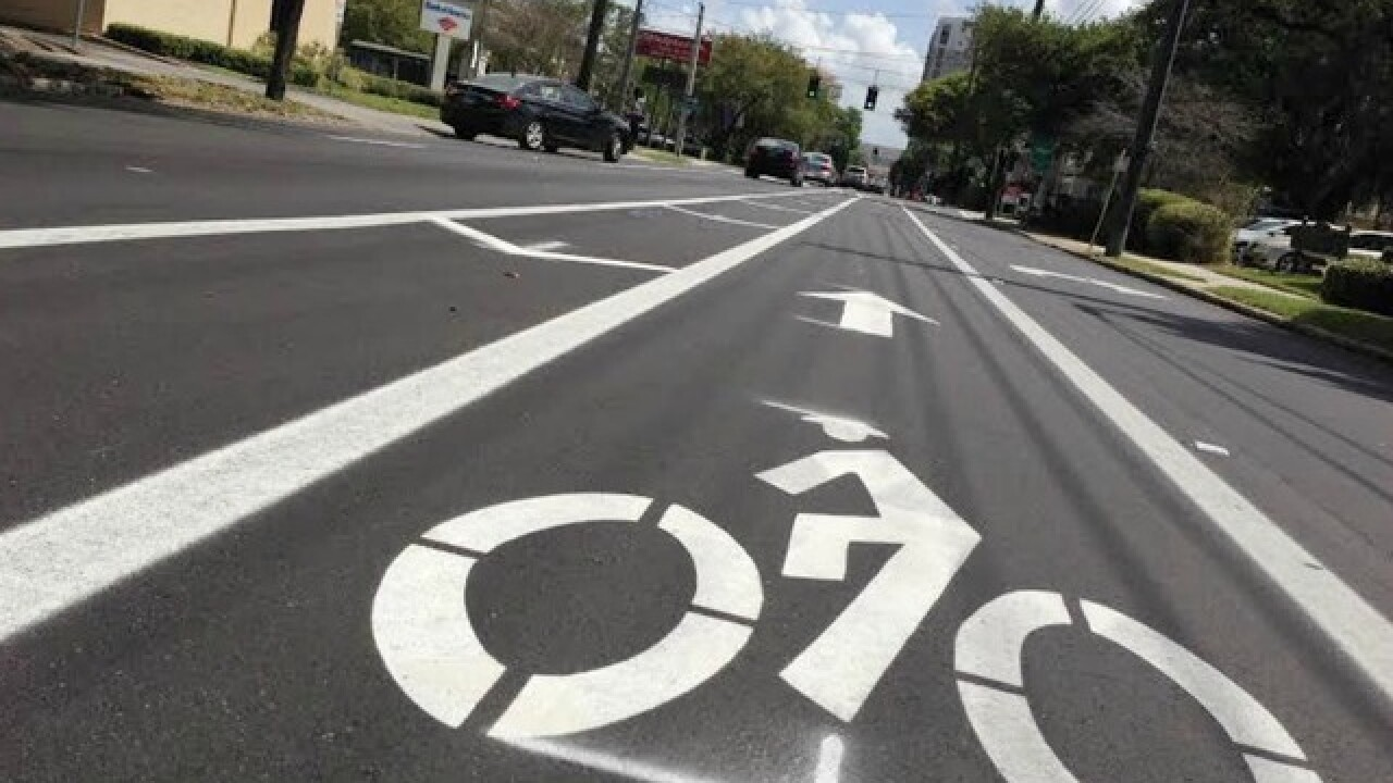 FDOT's first protected bike lane coming to Tampa