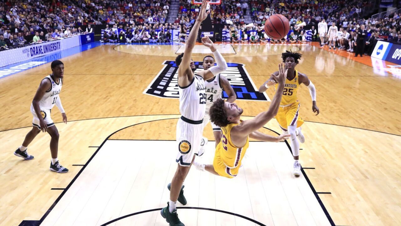Michigan State vs. Minnesota NCAA Tournament March Madness 2019