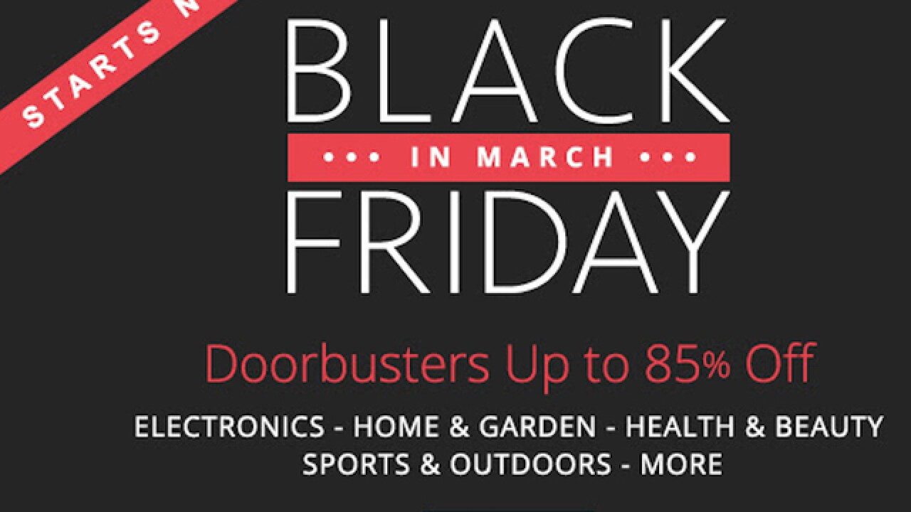 Groupon conducts 'Black Friday in March'