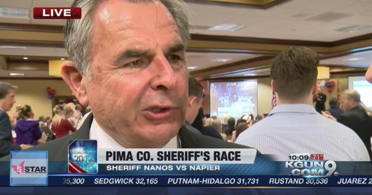 Mark Napier wins race for Pima County Sheriff