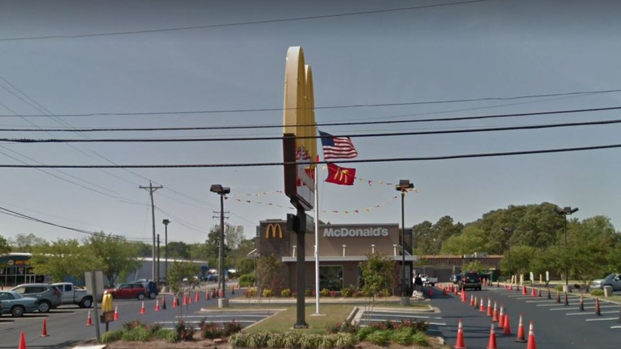 Suspect wanted after Elizabeth City McDonald's robbed at gunpoint