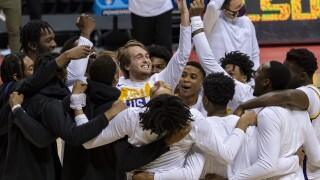 NCAA LSU St Bonaventure Basketball