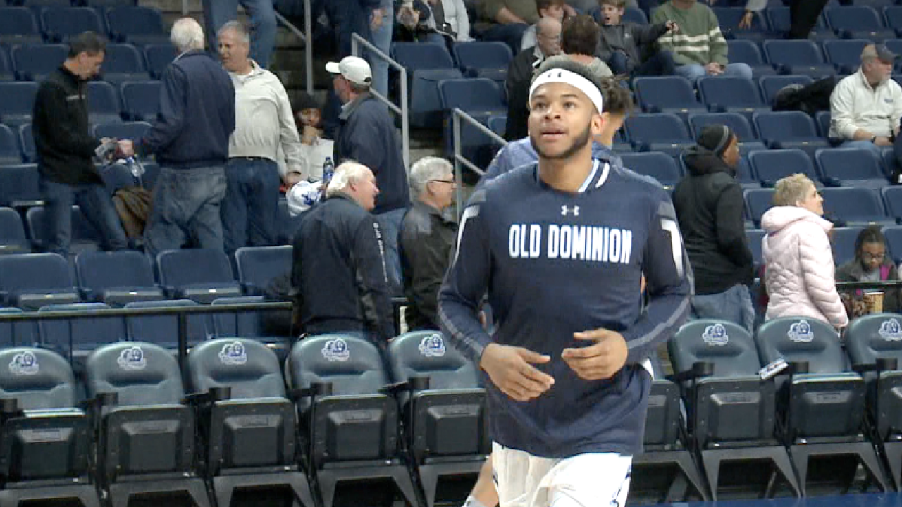 Senior salute: ODU, newly-minted C-USA men's hoops champ, hosts home finale