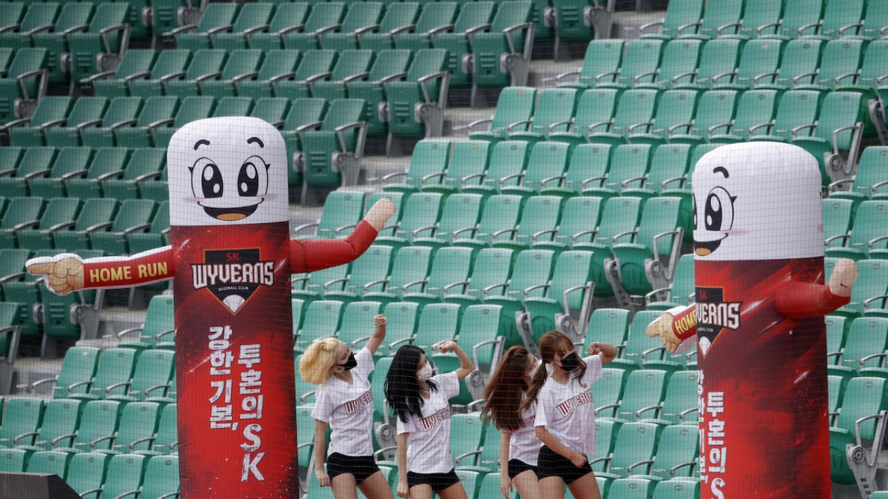 Play ball: Korean baseball league begins in empty stadiums, ESPN to broadcast games