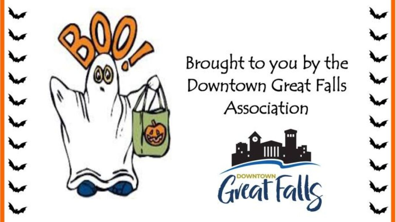 Downtown Great Falls will host safe trick-or-treating on Halloween