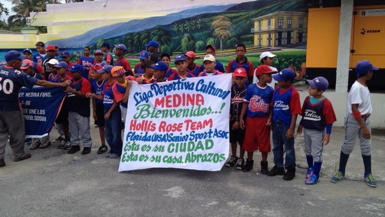 Southwest Floridians donate sports gear