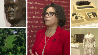 Thomas Jefferson descendant brings slavery at Monticello exhibit to Jackson Wardmuseum