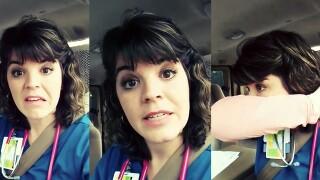 Florida nurse's video rant on terrible flu season goes viral