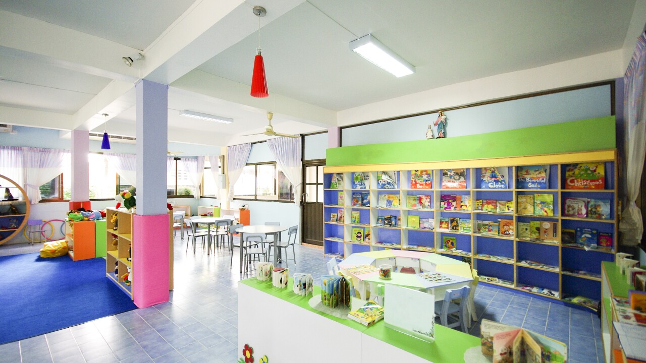 Toy room for children classroom preschool daycare