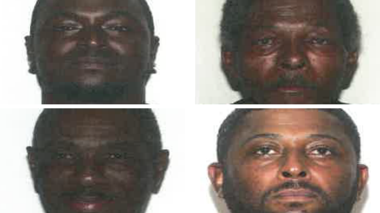 Four men arrested for selling crack cocaine